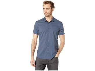 John Varvatos Faded Foulard Printed Poplin Shirt