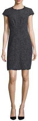 Rebecca Taylor Women's Houndstooth Sheath Dress