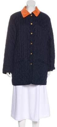 Hermes Embroidered Padded Jacket
