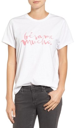 Women's Sincerely Jules Besame Graphic Tee $49 thestylecure.com