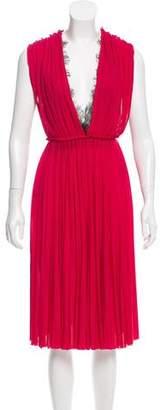 Gucci Pleated Midi Dress w/ Tags