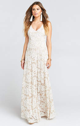 Show Me Your Mumu Jenn Maxi Dress ~ Lovers Lace Show Me The Ring