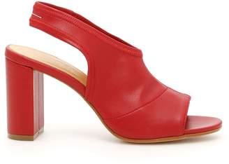 MM6 MAISON MARGIELA Faux Leather Sandals