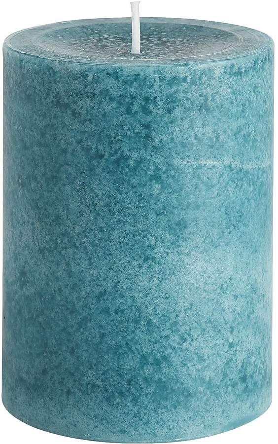 Oceans Mottled Pillar 3x4 Candle