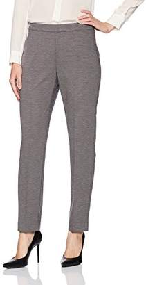 Chaus Women's Pull on Twill Ponte Pant