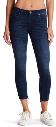 KUT from the Kloth Alice Crop Zip Ankle Jeans $59 thestylecure.com