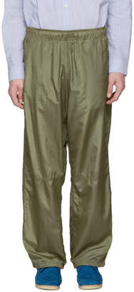 Our Legacy Green Para Sail Drape Lounge Pants
