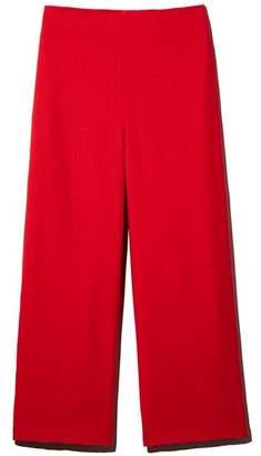 Aqua Wide-Leg Cropped Pants - 100% Exclusive
