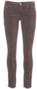 Acquaverde SCARLETT women's Cropped trousers in Brown