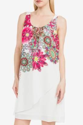 Desigual Corvus White Dress