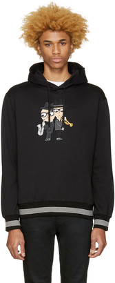Dolce & Gabbana Black Saxophone Designers Hoodie $995 thestylecure.com