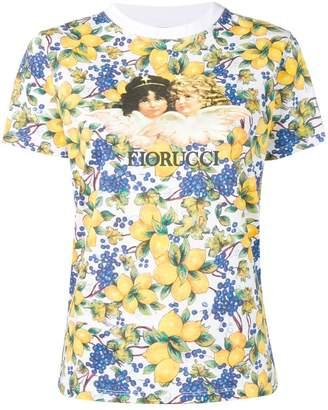 04b06632d6f Fiorucci Angels lemon print T-shirt