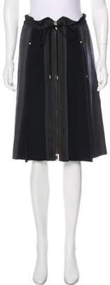 Derek Lam Wool A-Line Skirt