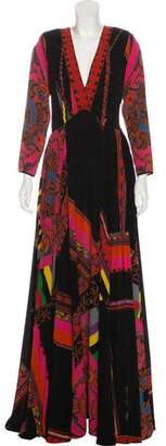 Etro Printed Maxi Dress w/ Tags