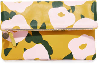 Clare Vivier Supreme Fold Over Clutch