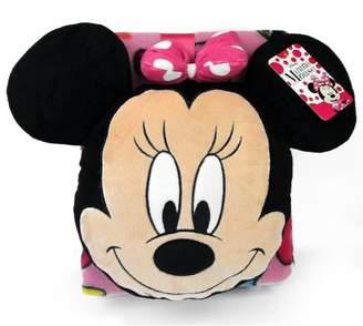 Disney Nogginz Minnie 2 Piece Pillow and Blanket Set
