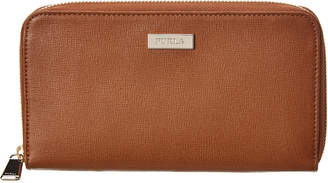 Furla Classic Extra Large Leather Zip Around Wallet