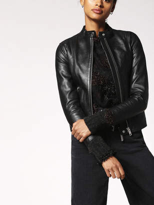 Diesel Leather jackets 0CAPI - Black - L