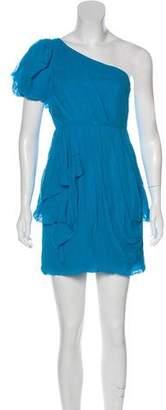 Tibi Silk Crepe Dress