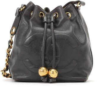 Chanel (シャネル) - Luxury Brands Vintage Bags & Accessories CHANEL キャビアスキン ショルダーバッグ ブラック