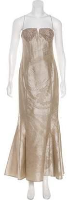 Giorgio Armani Strapless Evening Dress