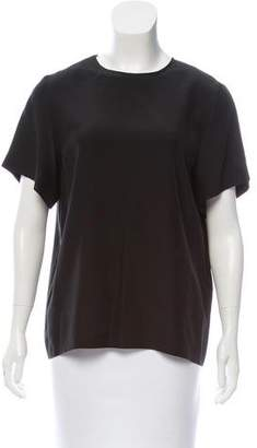 Emilio Pucci Silk Short Sleeve Top