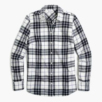 J.Crew Flannel shirt in boyfriend fit