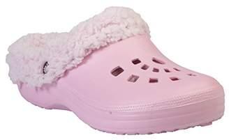 Dawgs Women's Fleece Indoor Outdoor Fluffy Clogs Slippers