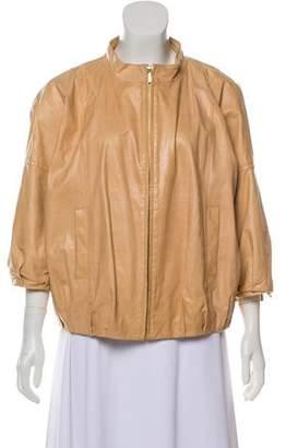 Tory Burch Oversize Leather Jacket