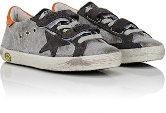 Golden Goose Old School Jersey & Suede Sneakers $265 thestylecure.com