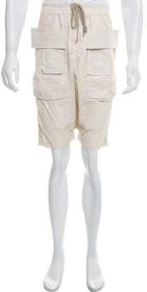 Rick Owens Woven Cargo Shorts