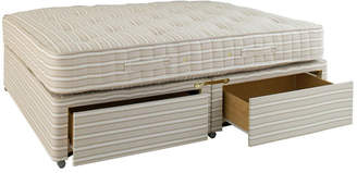 OKA Super King Divan Bed with Drawers