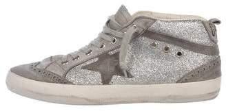 Golden Goose Glitter High-Top Sneakers