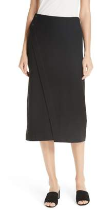 Eileen Fisher Knit Wrap Skirt