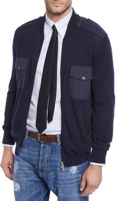 Brunello Cucinelli Men's Full-Zip Cardigan