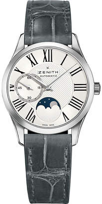 Zenith 03.2320.692/80.C714 Ultra thin lady moonphase stainless steel watch