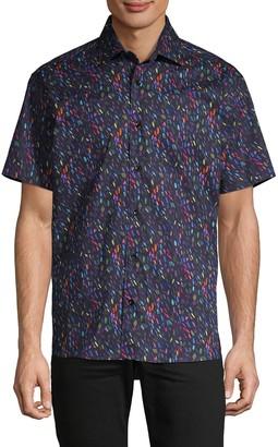 Bertigo Multicolored Short-Sleeve Shirt