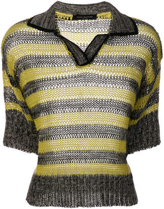 Piazza Sempione knitted polo shirt