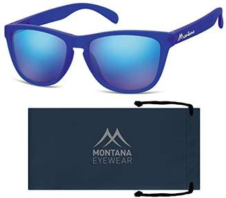 Montana MS31 Sunglasses, Multicoloured (Dark Revo Ice Blue), 54-17-138