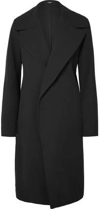 Bassike Cotton-blend Twill Coat - Black