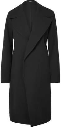 Bassike Cotton-blend Twill Coat - Black