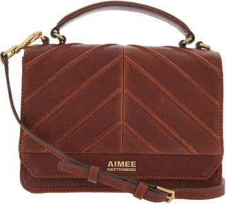Aimee Kestenberg Leather Expandable Crossbody - Mia