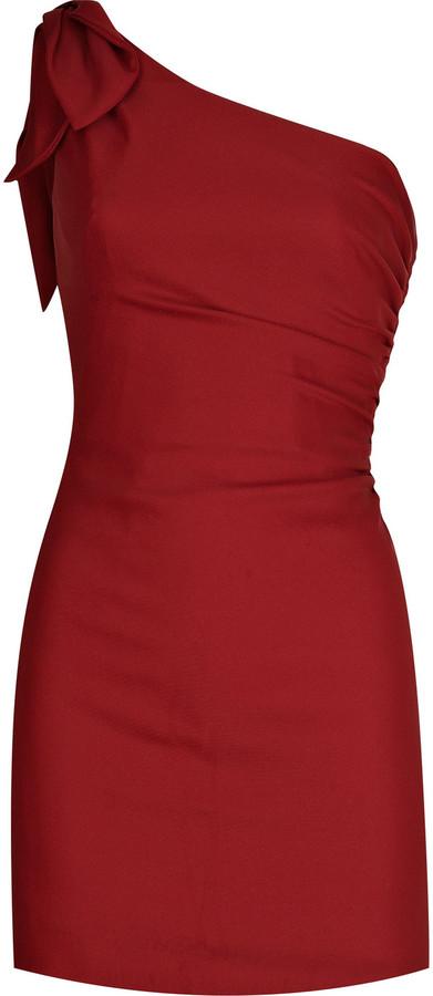 Valentino Asymmetric mini dress
