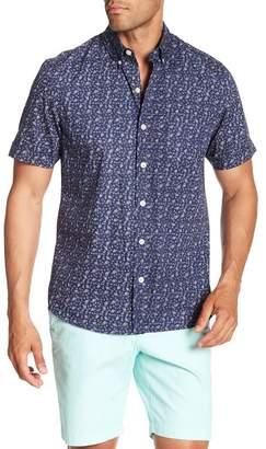 Kennington Little Feather Short Sleeve Print Shirt