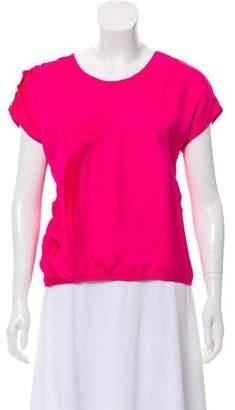 Doo.Ri Silk Short Sleeve Top