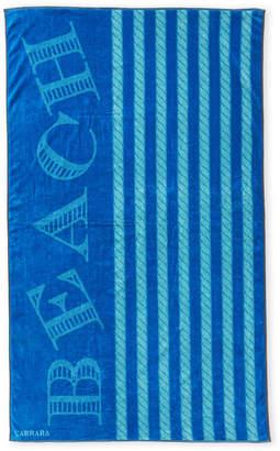 Carrara Turquoise & Blue Yacht Beach Towel