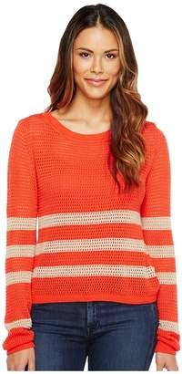 Splendid Stripe Pullover Women's Clothing