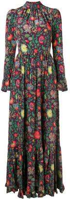 La DoubleJ floral dress