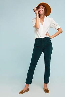 3x1 W3 Higher Ground Velvet Cropped Jeans