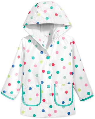 Carter's Hooded Printed Raincoat, Toddler & Little Girls (2T-6X) $46 thestylecure.com